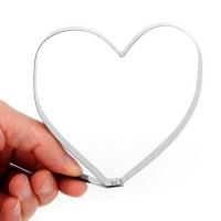 Форма для яичницы Сердце металлическая 10см