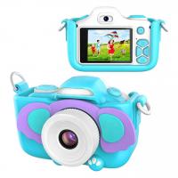 Детский цифровой фотоаппарат Children's Camera Слон с селфи камерой и вспышкой