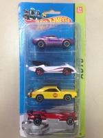 Машинки Hot Wheels 4 шт №1602