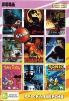 Картриджи Sega 55в1 MK 1,2,5,6,3 ULT/TINY TOON