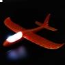 Самолет планер метательный c LED подсветкой