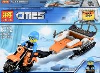 Конструктор 28029 City Archtic 60 дет. Снежные машины