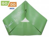 Эспандер-петля для фитнеса GO Do WIDE №1 ширина 7.5см, толщина 0.7мм, нагрузка 3-6кг