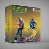 Танцевальный коврик Aspel для 2-их (двоих) 16 бит. Dance Perfomance II (Let's Dance)