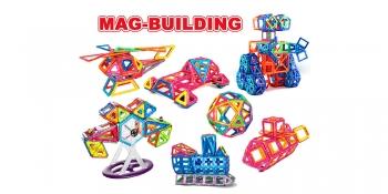 Магнитный конструктор Mag-Building 138 детали