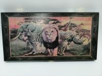 Нарды средние 50х25х3,6см Animal Series