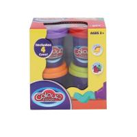 Набор Пластилина для лепки Плей-До Colour 4 цвета № 9201