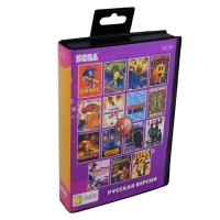 Картридж Sega 15в1 SONIC/BATTLE TOADS/BARE KUNC/TURBO OUTRUN/+ (<>)