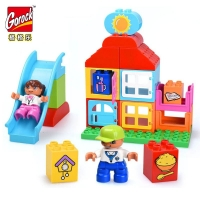 Конструктор 1024 Gorock 25дет Happy House