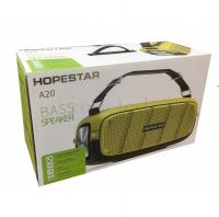 Портативная Bluetooth Колонка Hopestar A20 10W*2 + 35W BASS Speaker защита от влаги IPX6
