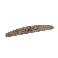 Пилка для ногтей лодочка 240/320 экстра-класс (коричневая) в индивидуальной упаковке
