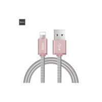 Кабель Hoco U5 Full-Metal Charging cable for Apple 5/6/7