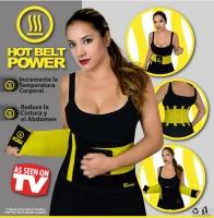 Пояс утягивающий Hot Shapers Belt для похудения р-р L