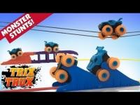 Монстр Траки Trix Trux (Trie Trul) BB885 - 1 машинка + веревки