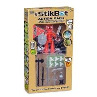 Стикбот Stikbot Action Pack 2103/11, герой + аксессуары
