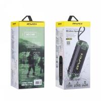 Влагозащищенная беспроводная колонка Awei Y280 Black (Bluetooth, MP3, AUX, Mic)
