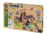 Стикбот Stikbot Игровой набор Крепость / Замок + герои JM06B