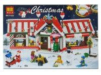 Конструктор 11093 Christmas 492 дет. Рождественская лавка