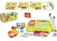 Детский Кассовый аппарат с продуктами Happy Little Shopping