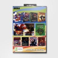 Картридж Sega 11в1 M. K. 3 ULTIMATE / МАРИО + ТАНЧИКИ