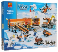 Конструктор 28020/ 10997 Cities 786/ 804 дет. Передвижная арктическая база