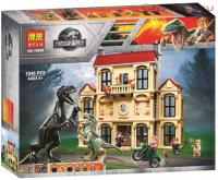 Конструктор 10928 Dinosaur World 1046дет Нападение индораптора