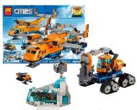 Конструктор 28021 Cities 743дет. Арктический грузовой самолёт