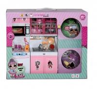 Кукла LOL (Лол) Набор Кухня + 2 куклы LOL в шаре 40х33х10 см