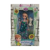 Кукла Frozen муз.набор + снеговик, BX-12A качество