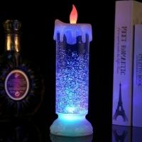 Декоративная Свеча - Лампа со снегом Romantic Candle H-86