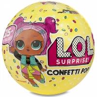 Кукла  LOL (Лол) - Серия Конфетти Желтый 1шт
