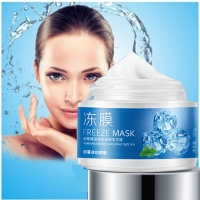 Маска для лица с экстрактом мяты BioAqua Freeze Mask 100g