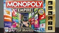 Монополия Империя Топ Бренды + золотые фигурки