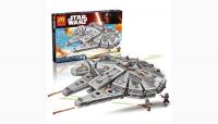 Конструктор 79211 Star Wars 1381 дет. Звездные войны Сокол Тысячелетия