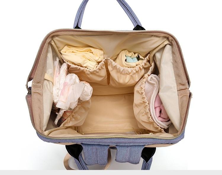 3af2789e238c Рюкзак / сумка для мамы и малыша Diweilu с Usb проводом и креплением для  коляски