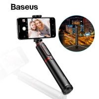 Монопод для селфи Baseus Bluetooth Selfie Stick Portable Handheld Black