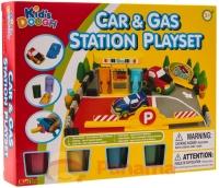 Набор для лепки Kids Dough Car&Gas Station Playset