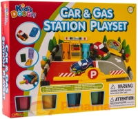 Набор для лепки Kids Dough Car&Gas Station Playset