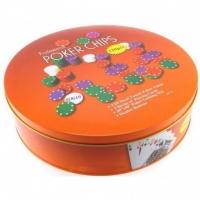 Набор для игры в Покер 120 фишек + 2 колоды в металлическом боксе