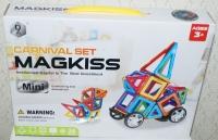 Магнитный конструктор 36 дет Carnival Set MagKiss