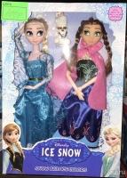 Куклы Frozen Холодное сердце Анна и Эльза 2в1 40см