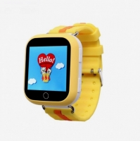 Smart baby watch Wonlex GW200S Желтые детские сенсорные часы