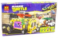Конструктор 10211 Ninja Turtle 627 дет Преследование на грузовике