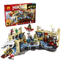Конструктор 79348 Ninja НиндзяГо 1303 дет. Хаос в X-пещере Самураев
