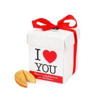 Волшебное печенье с предсказаниями Для Влюбленных I LOVE YOU  7шт