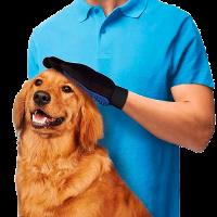 Перчатки True Touch для вычесывания животных
