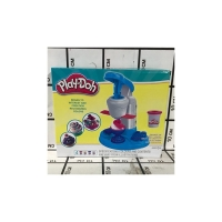 Набор Пластилина Плей-До Аппарат для Мороженого 3 цвета