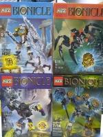 Конструктор 613-1/4 Bionicle 94-118 дет. Фантастические герои