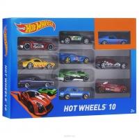 Машинки Hot Wheels 10 шт 1604-1/10