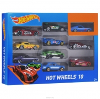 Машинки Hot Wheels 10 шт 1604-1/10